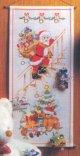 クリスマスカレンダー・サンタクロースとプレゼント