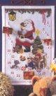 クリスマスカレンダー・サンタとおもちゃ