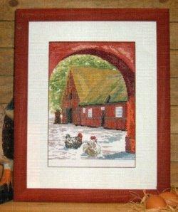 画像1: カントリーファーム 赤いおうち