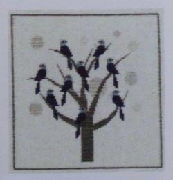 画像1: 鳥の休む木