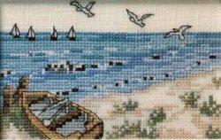 画像1: 海岸のカゴメ、ボート