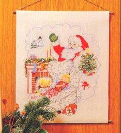 画像1: サンタクロースと子供 クリスマス