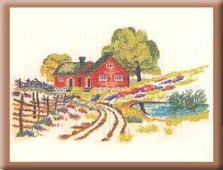 画像1: デンマーク・赤いおうち