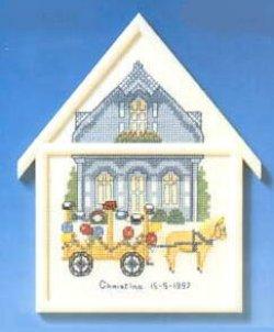 画像1: 黄色い馬車とおうち