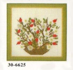 画像1: 花カゴ