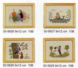 画像1: アンデルセン童話 9x12cm