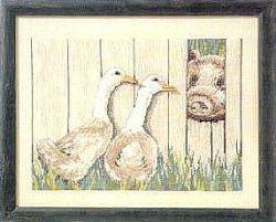 画像1: お散歩アヒルと子豚ちゃん