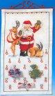 クリスマスカレンダー・トナカイとサンタ