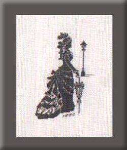 画像1: 貴婦人シルエット
